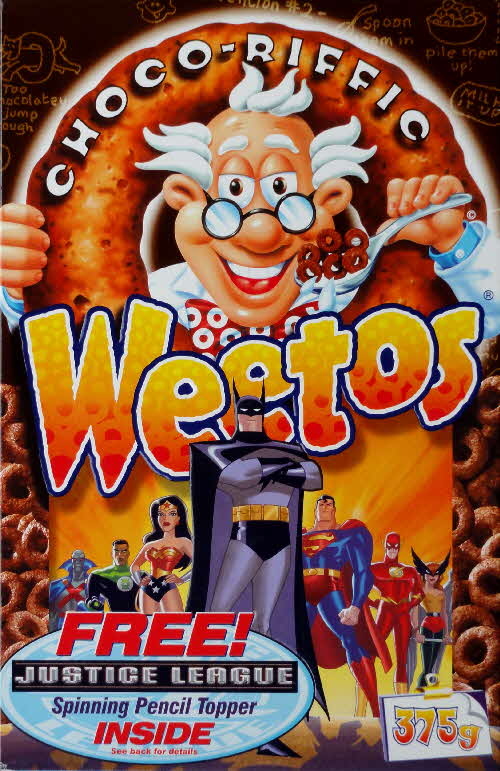 2003 Weetos Justice League front Batman