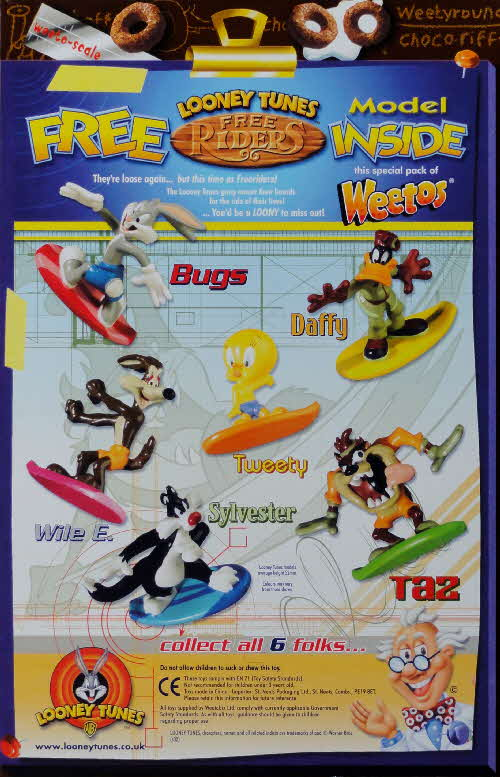 2002 Weetos Looney Tunes Free Riders