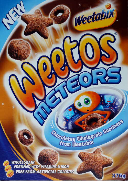 2008 Weetos Meteors New front