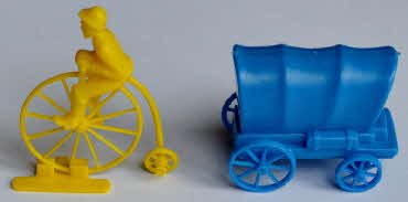 1960s Kelloggs Transport Penny Farthing & Wagon